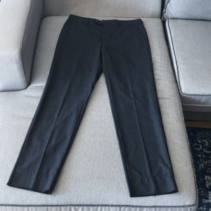 New Michael Kors Charcoal Plaid Trouser